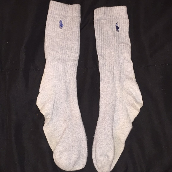 Polo by Ralph Lauren Other - Polo Gray Crew Socks
